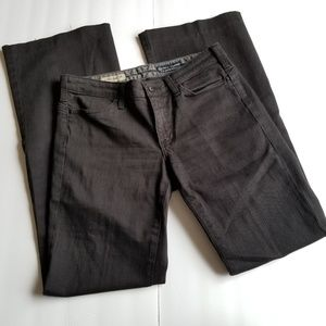 AG Adriano Goldschmied Black Flare Jeans 27